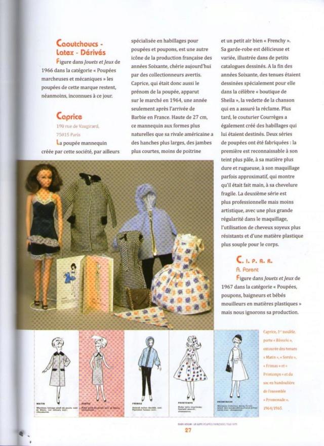 La poupée mannequin Caprice, et sa reproduction actuelle, Anouk Img32710