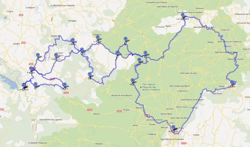 Balade en Ardèche 3ème édition 4-5 Aout Balade10