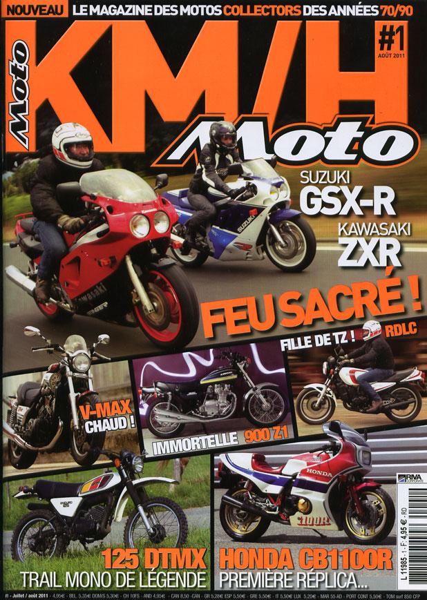 revue km/h moto Couv10
