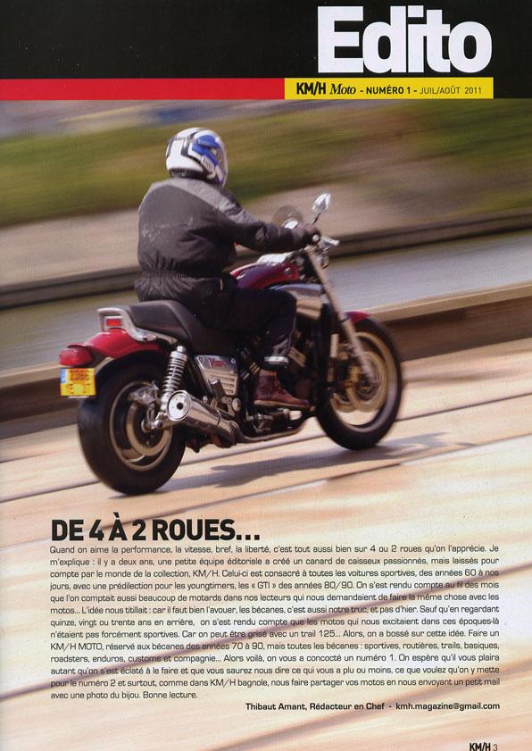revue km/h moto Edito10