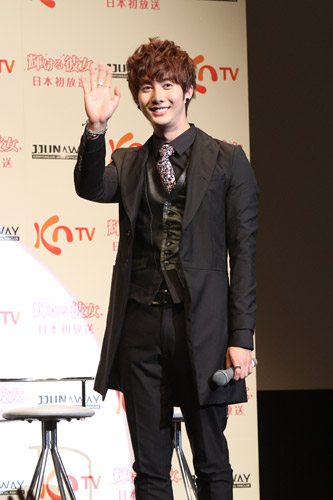 [photos] Hyung Jun attending Hanyu Pia event Ev210
