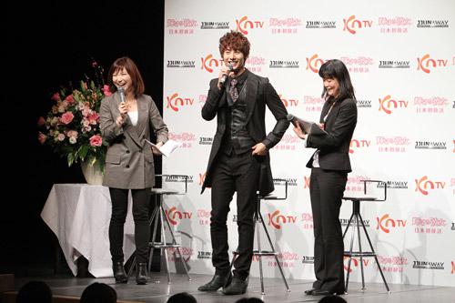 [photos] Hyung Jun attending Hanyu Pia event Ev310