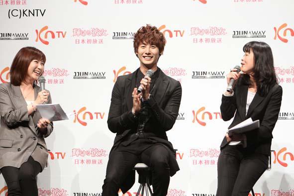 [photos] Hyung Jun attending Hanyu Pia event Ev610