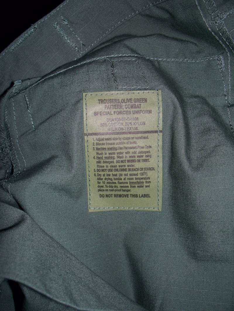 Helikon Tex Pantalone Special Force Uniform 100_5015