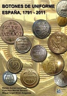Botones de Uniforme España 1791-2011 Num17410