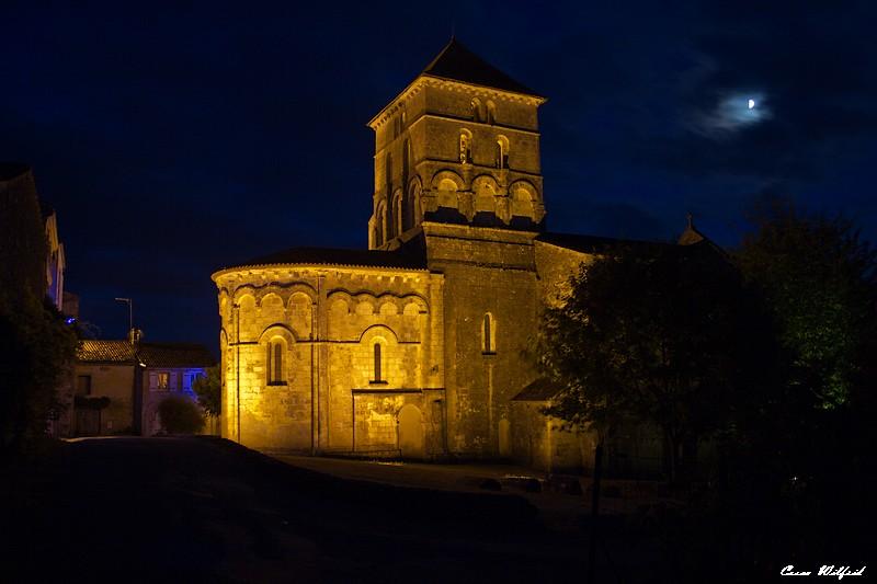 l'église de mon village la nuit Eglise10