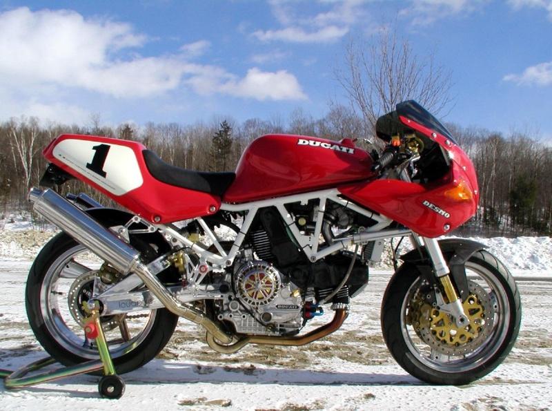 Ducati 900SS cadre blanc 41503910
