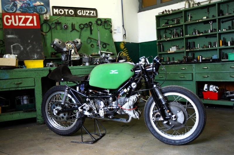Guzzi... juste l'essentiel des Café Racer - Page 40 42356110