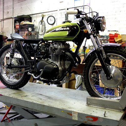 Scrambler Honda 54819410