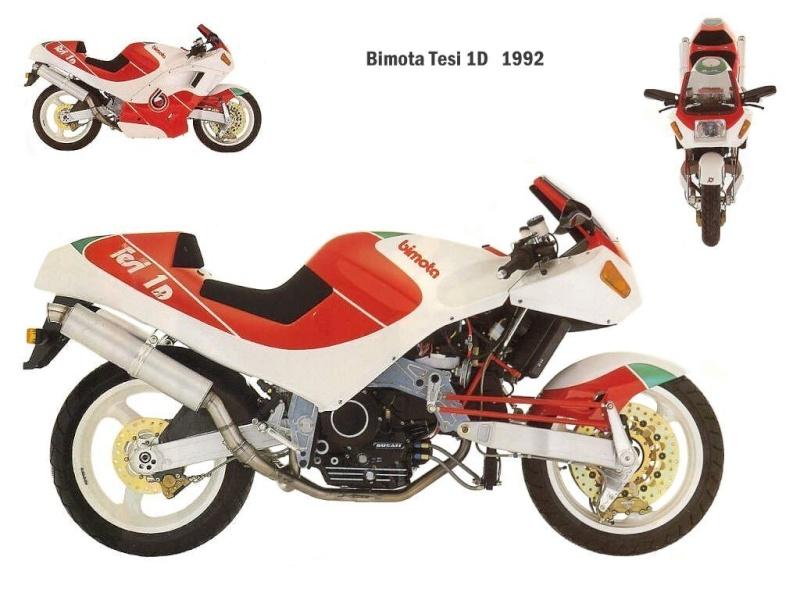 Motos d'exception et délires technologiques Bimota10