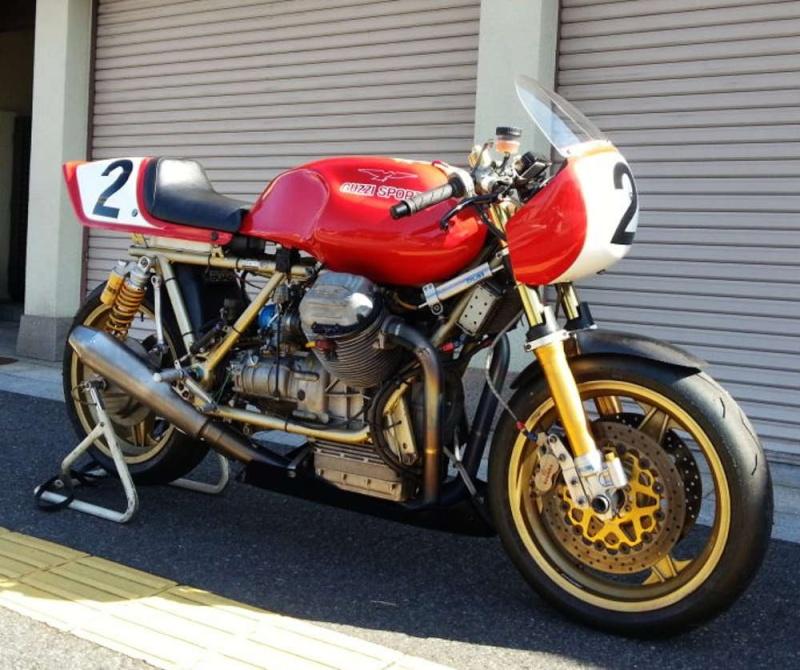 Guzzi... juste l'essentiel des Café Racer - Page 40 Moto_g29