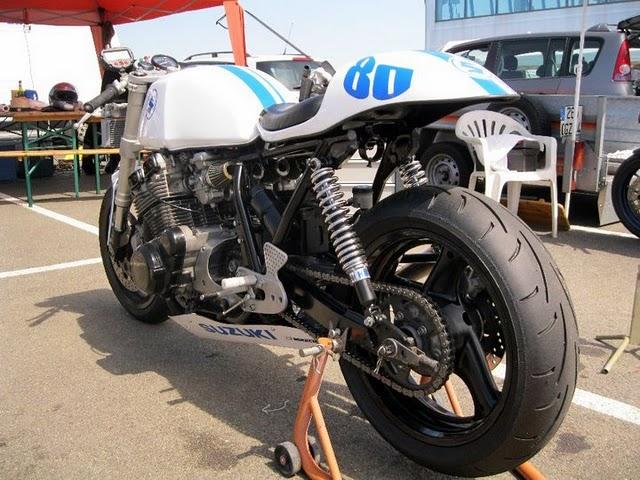 White Bandit Suzuki50