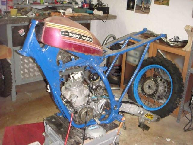 Yam' YZ250 Tracker Yamaha30
