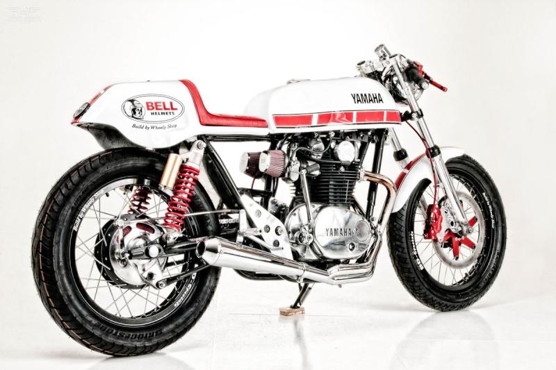 XS 650 Wheely Shop Yamaha50