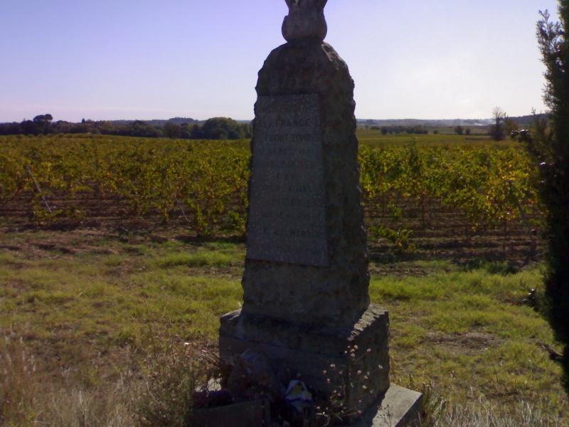 Stèles dans l'Hérault (34) 21102011