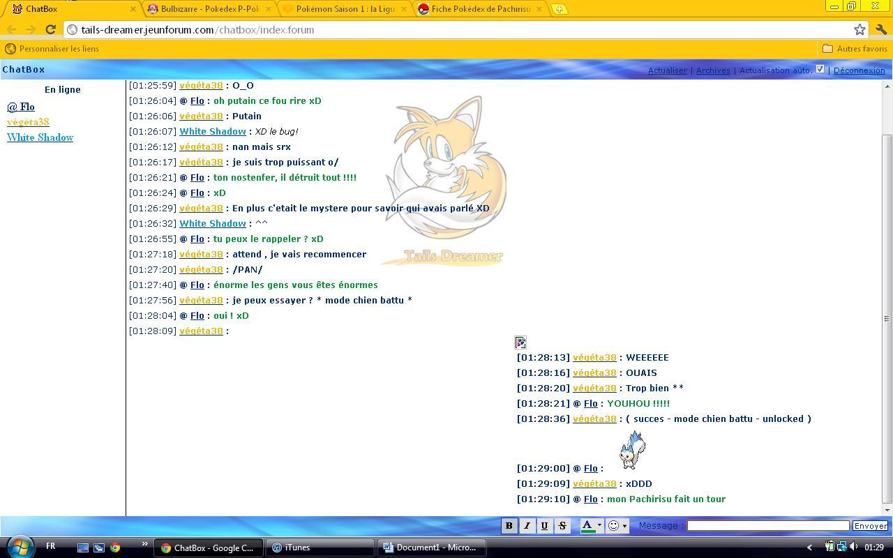 Le meilleur de la chatbox Chatbo12