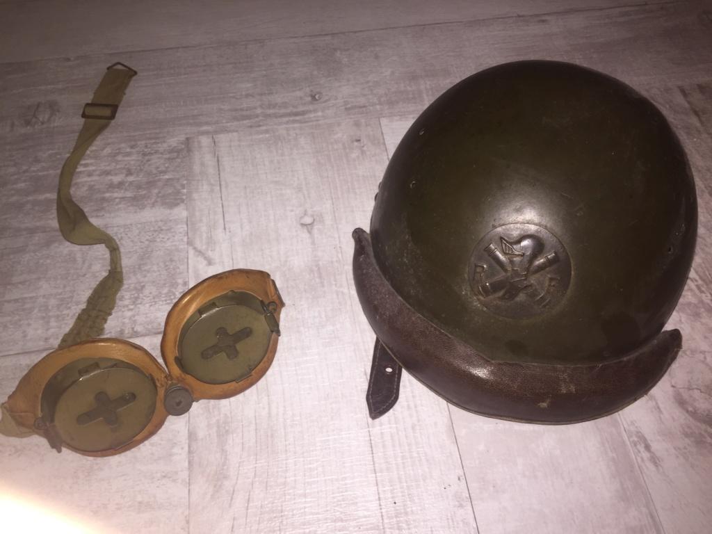 Casque 35 tankiste et lunette lbu 4c7c0b10