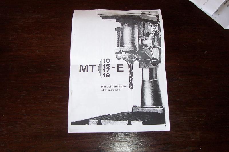 recherche doc sur cincinnati type MT 100_2020
