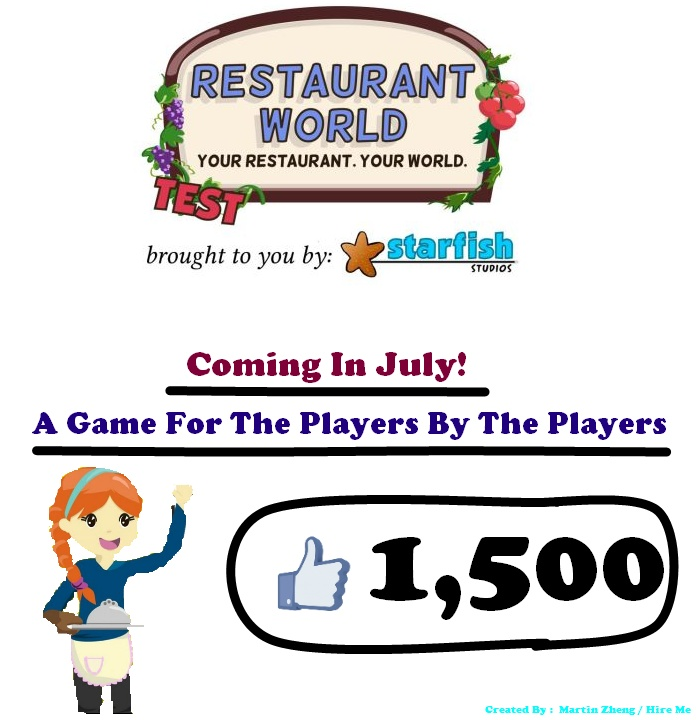 [AD] For Restaurant World (Hire Me For Editor) Rw10