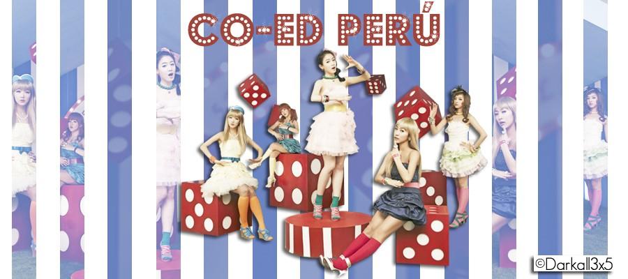 Co - ed  Peru ♥