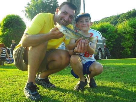 Emmener les gamin à la pêche... 2011