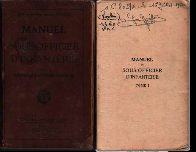 1950, manuels d'instruction militaire 19500710
