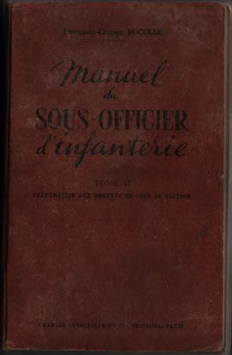 1950, manuels d'instruction militaire 19500711
