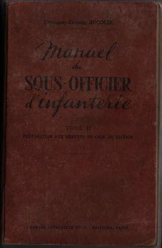 1950, manuels d'instruction militaire 19500711