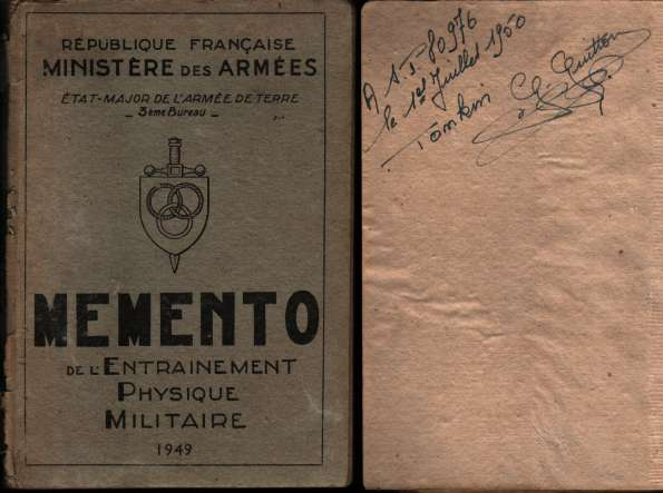 1950, manuels d'instruction militaire 19500712