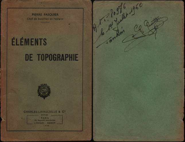 1950, manuels d'instruction militaire 19500714