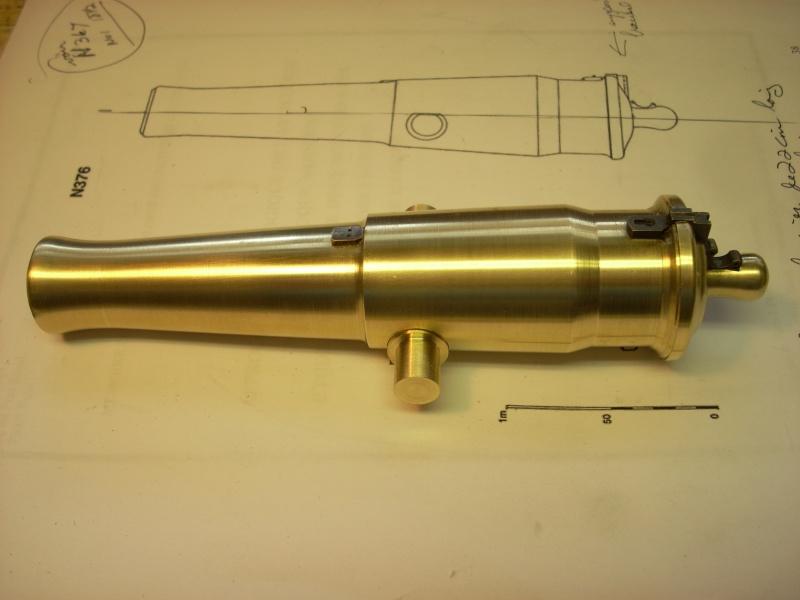 Canon-obusier à la Paixhan, modèle  1842, no 1 - Page 4 Dscn5013