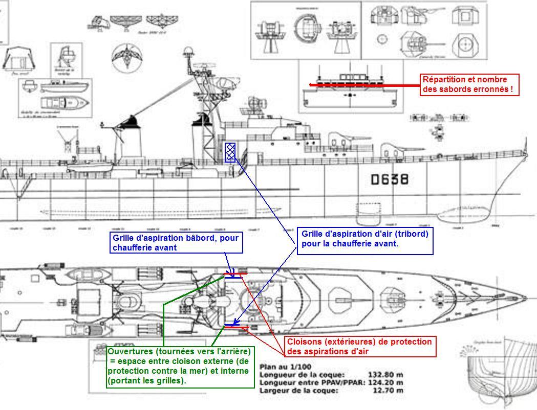 """Escorteur d'escadre """"La Galissonnière""""  plan MRB 1/100è (le chantier a réouvert ses portes) - Page 18 Galiss13"""