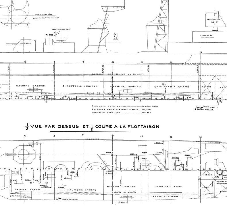 """Escorteur d'escadre """"La Galissonnière""""  plan MRB 1/100è (le chantier a réouvert ses portes) - Page 17 Quille10"""