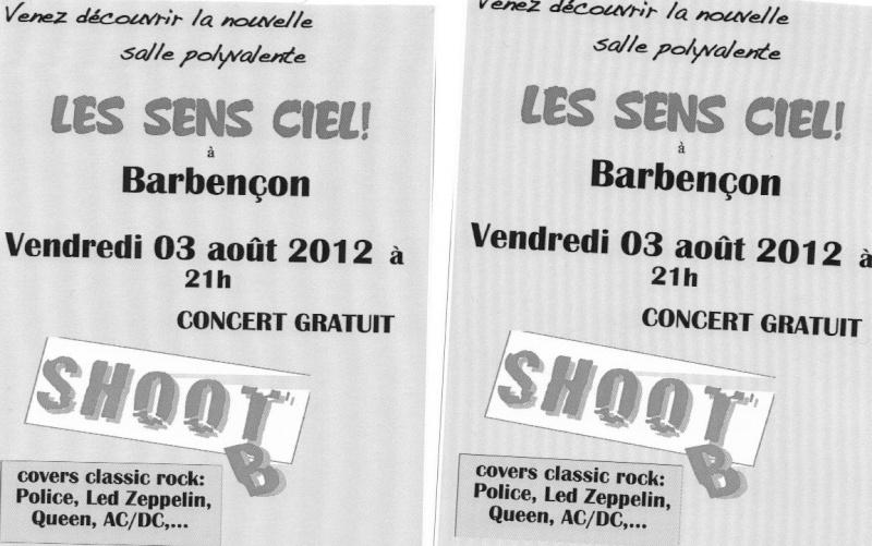 Concert gratos dans la région de Beaumont. Sens10