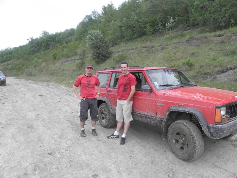 mon Jeep XJ rouge! P5071210