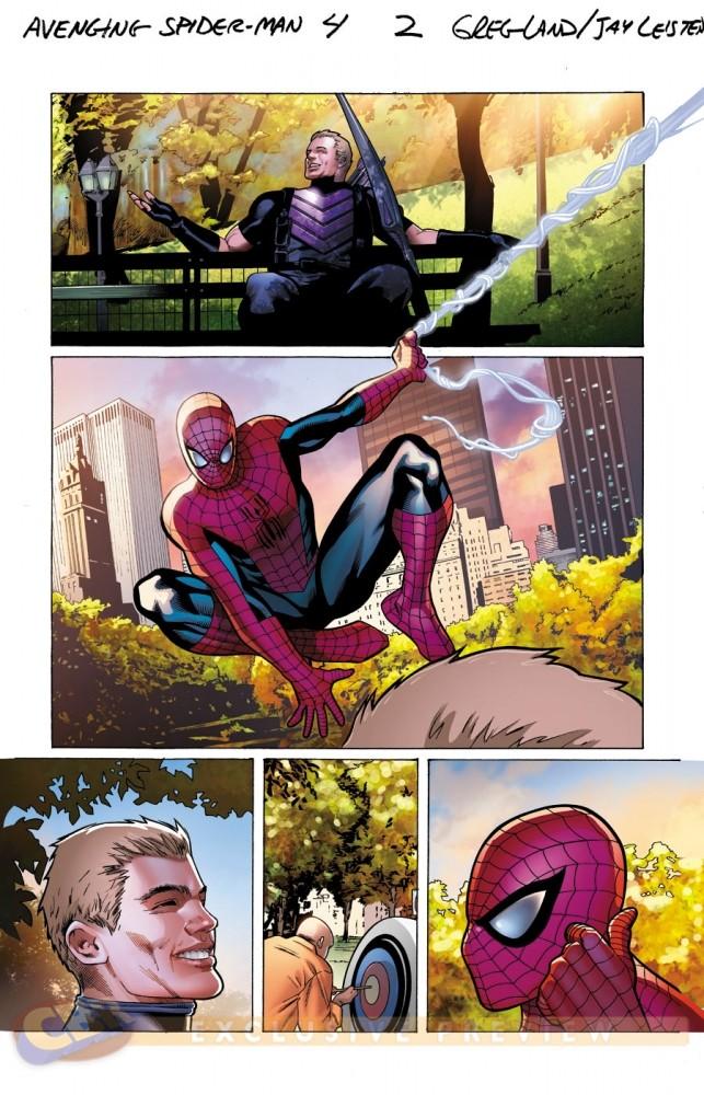 Avenging Spider-Man #4-5 [Preview] Avengi10