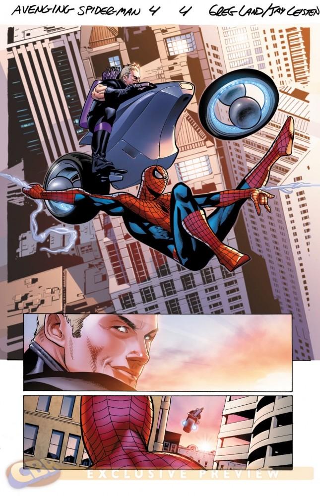 Avenging Spider-Man #4-5 [Preview] Avengi11