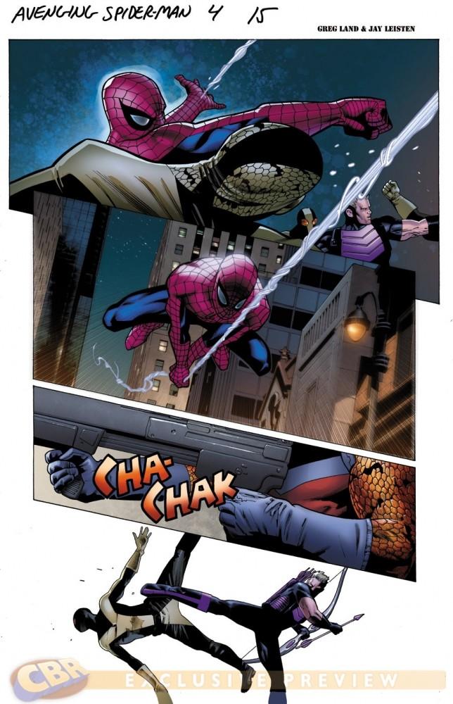 Avenging Spider-Man #4-5 [Preview] Avengi12