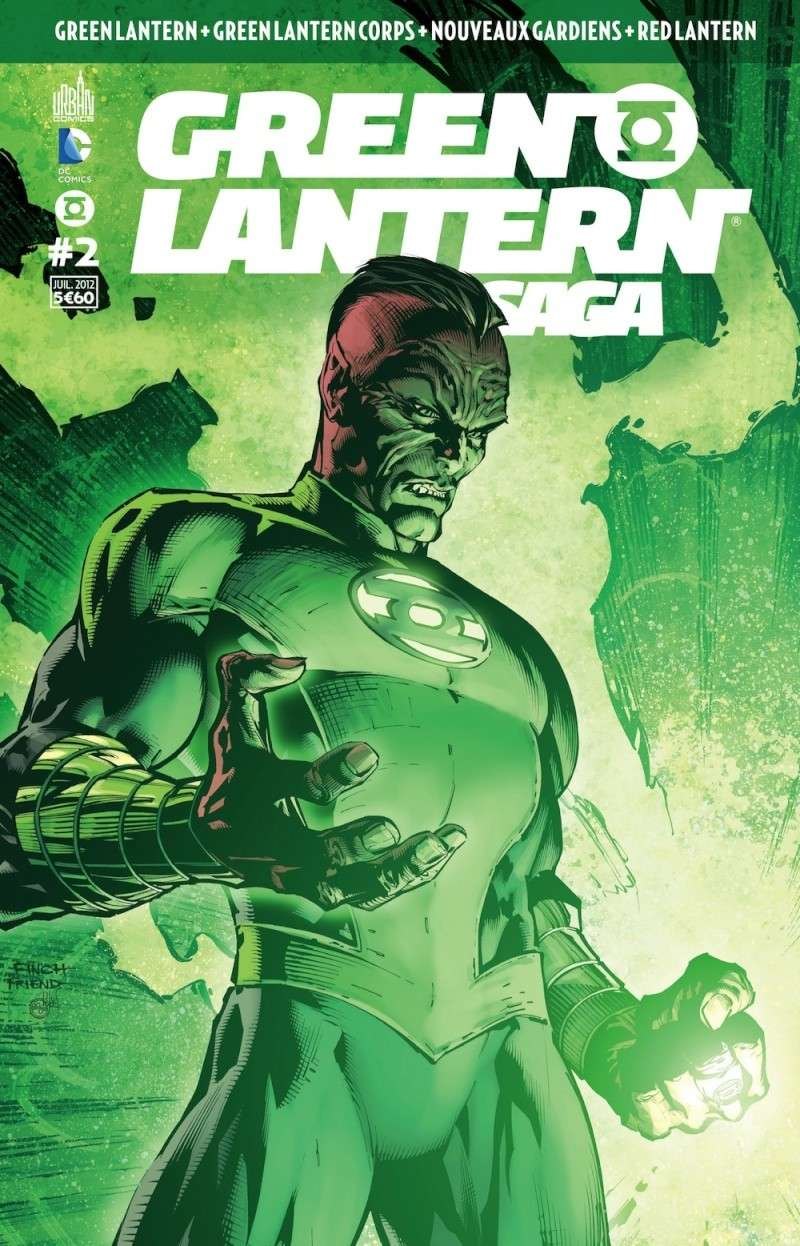 Green Lantern Saga [Mensuel] News_202