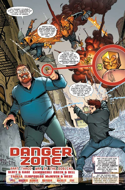 Amazing Spider-Man #695-697 [Cover]   Prv14122