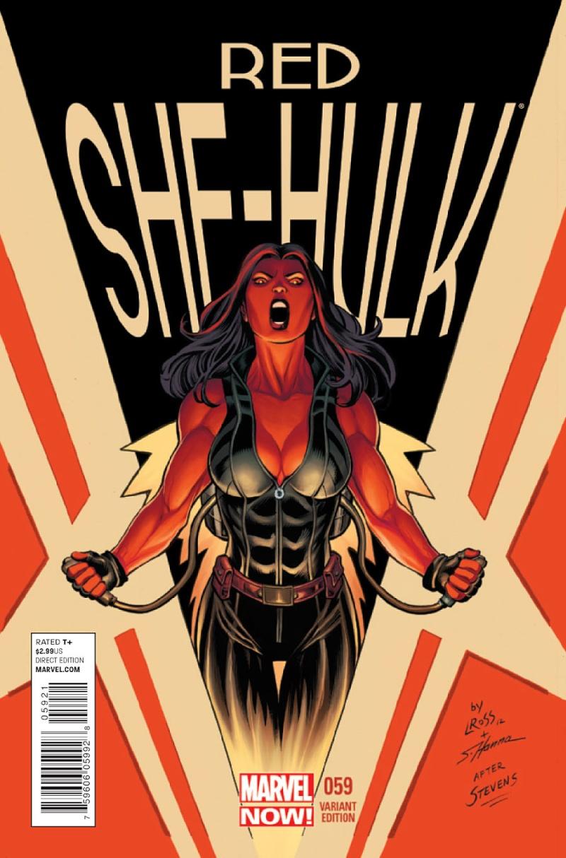 Red She Hulk #58-67 [Cover] Prv14144