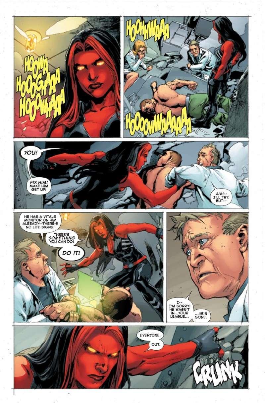 Red She Hulk #58-67 [Cover] Prv14146