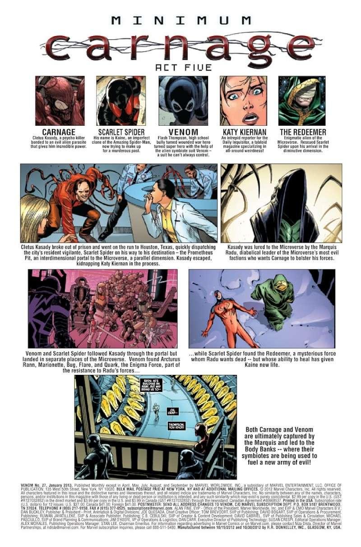 Minimum Carnage [Crossover Scarlet Spider/Venom] Prv14150