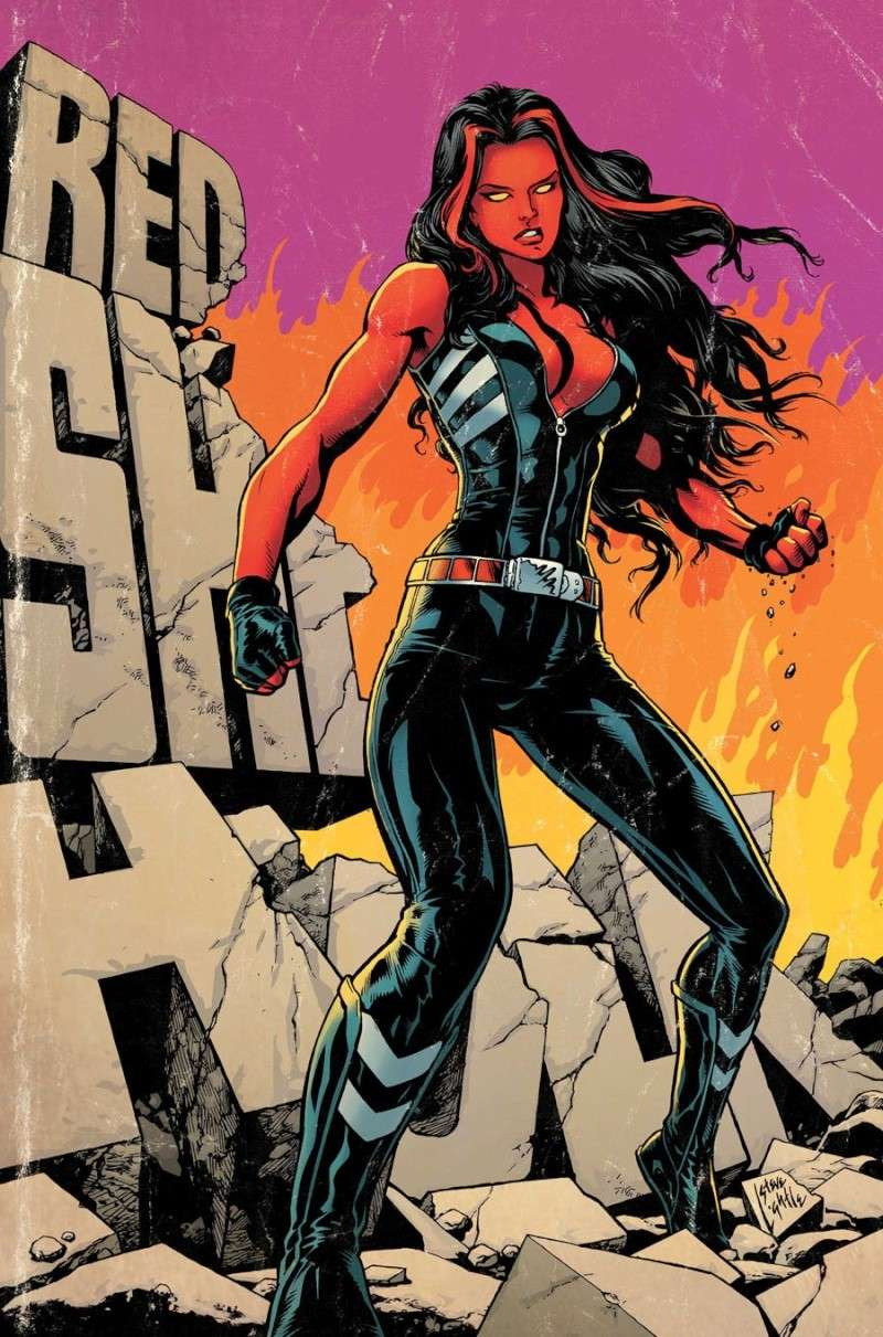 Red She Hulk #58-67 [Cover] Shehul10