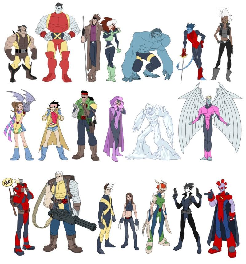 Le topic fourre-tout des vidéos et infos super-héroïques - Page 4 Xmenli10