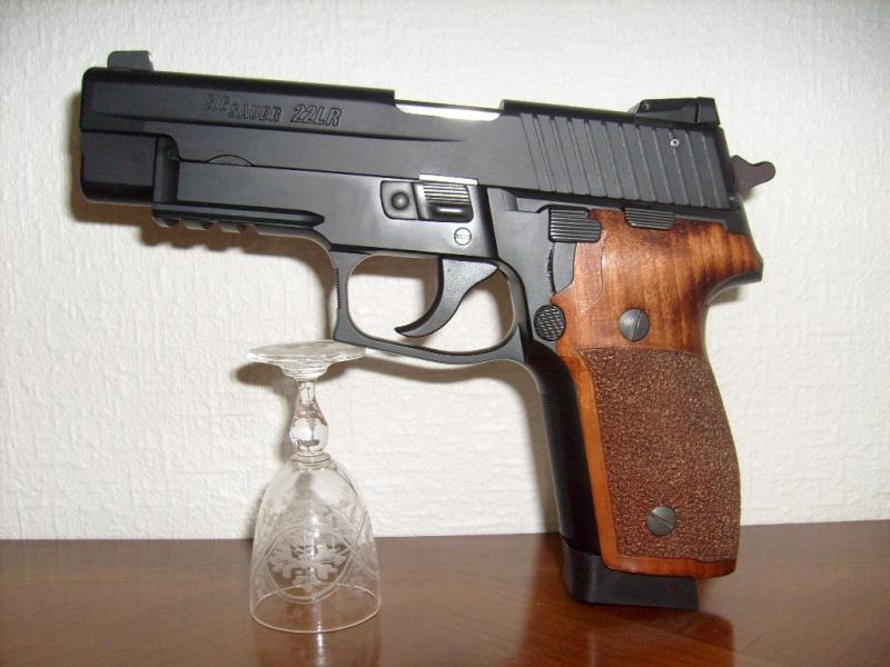 Que Vaut le Pistolet Sig Sauer P229 - 22 LR 01511