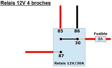 800 VN - Montage de tous feux additionnels Schema11