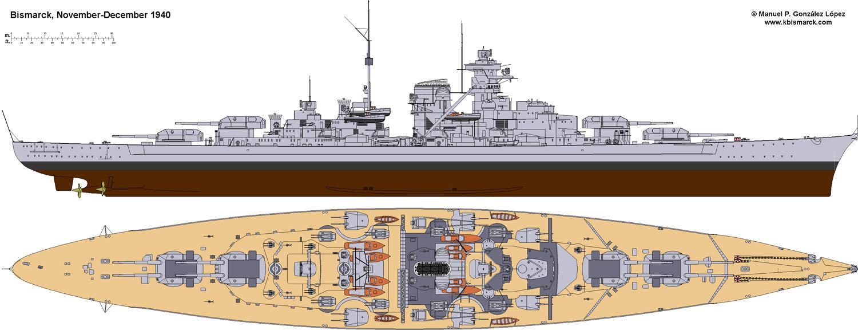 Costruisci la Bismarck Collezione  Hachette in Edicola Bism0210