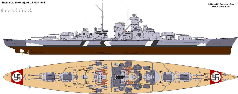Costruisci la Bismarck Collezione  Hachette in Edicola Bism4110