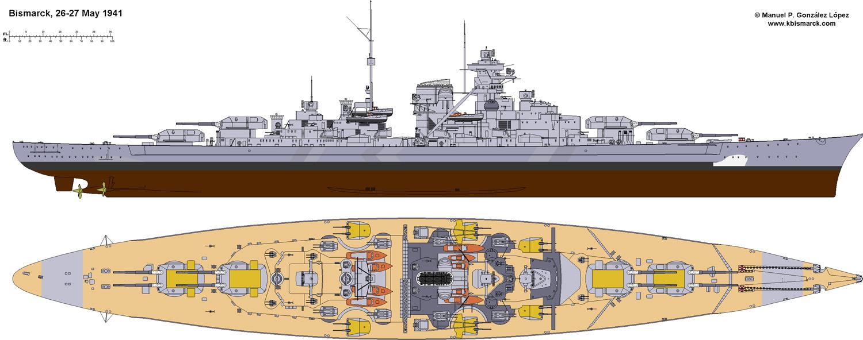 Costruisci la Bismarck Collezione  Hachette in Edicola Bism4311